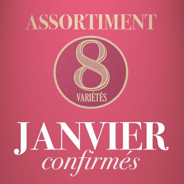 01 - ASSORTIMENT DE JANVIER - confirmés