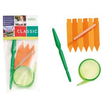 KIT DE PLANTATION (Semoir, plantoir, étiquettes x6, crayon)